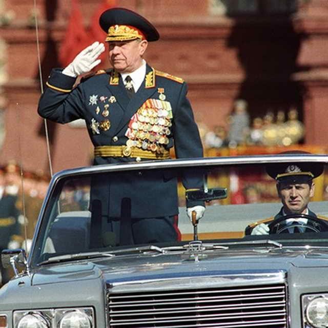Маршал Советского Союза экс-министр обороны СССР Дмитрий Язов