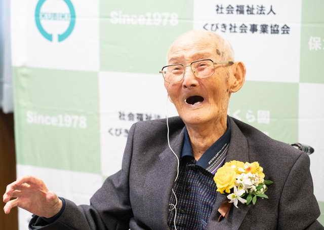 Японец Читецу Ватанабе самый старый мужчина в 2020 году, 112 лет