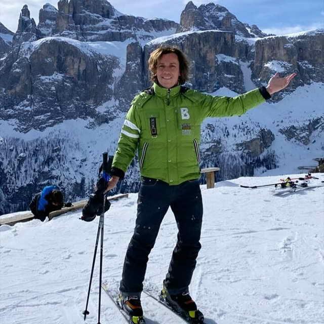 Максим Галкин привез Лизу и Гарри в Альпі