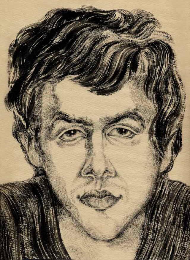 Стас Садальский портрет работы Юрия Богатырева