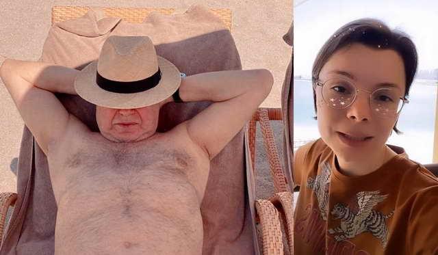 Петросян и Брухунова на отдыхе в Дубае в марте 2020