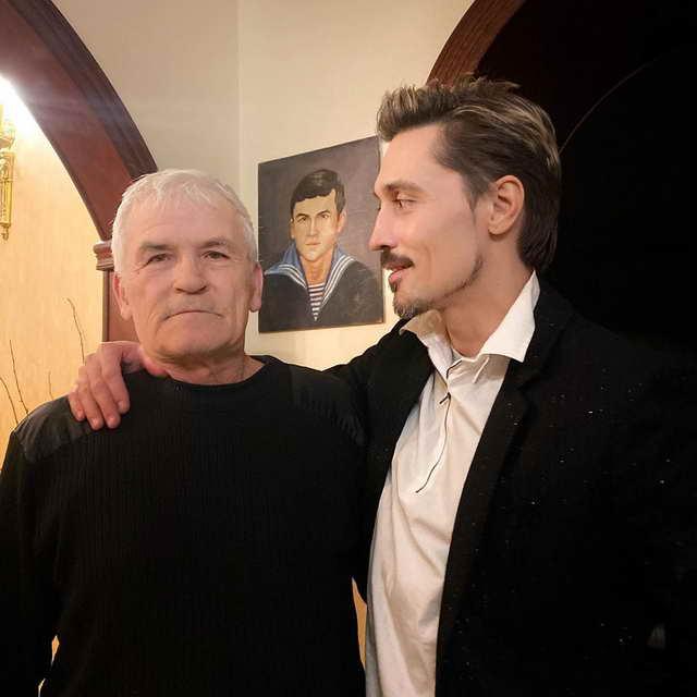 Дима Билан с отцом Николаем Беланом