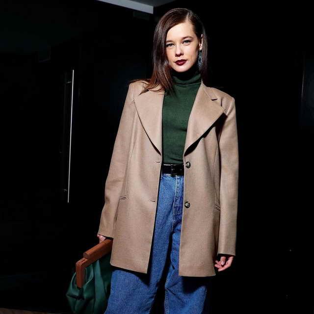 Актриса Катерина Шпица - неудачный стилистический образ
