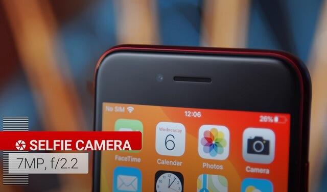 Селфи камера iPhone SE 2020