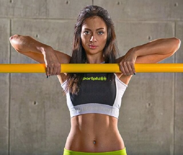 Настасья Самбурская фитнес спорт