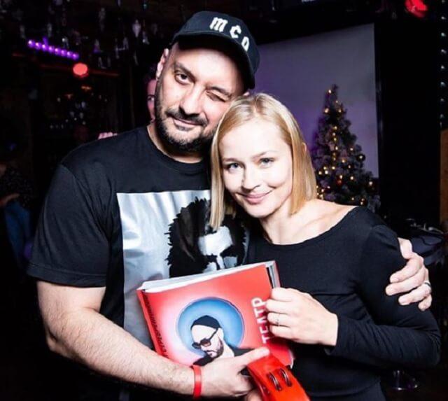 Юлия Пересильд и Кирилл Серебренников