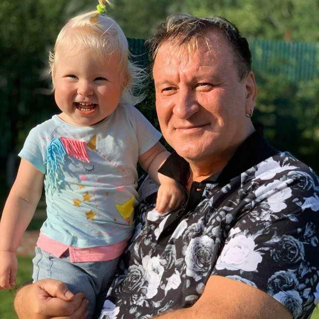 Сергей Пенкин и внучатая племянница Лиза