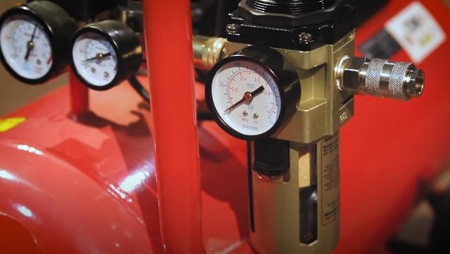 Элементы управления ременными компрессорами