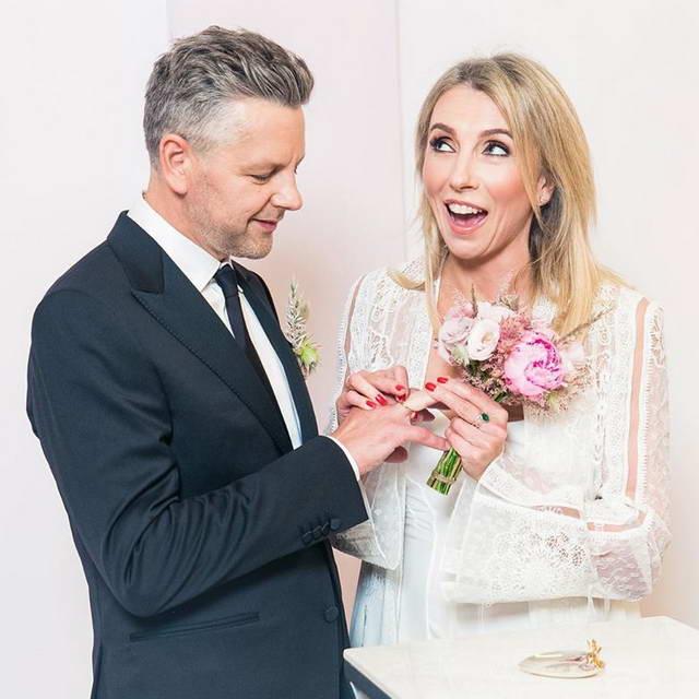 Светлана Бондарчук и Сергей Харченко поженились (свадьба)