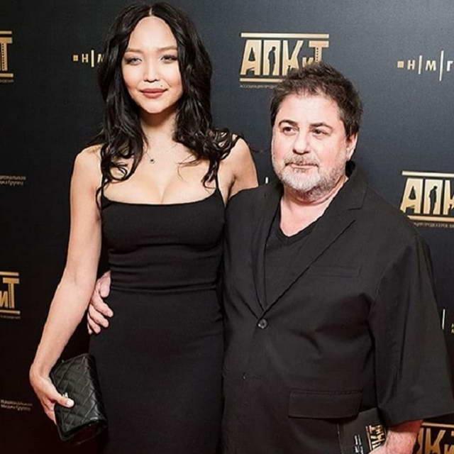 Александр Цекало с новой женой Дариной Эрвин