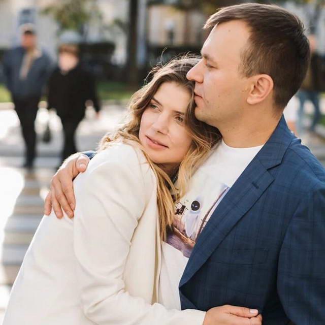Настя Задорожная и ее муж Владимир