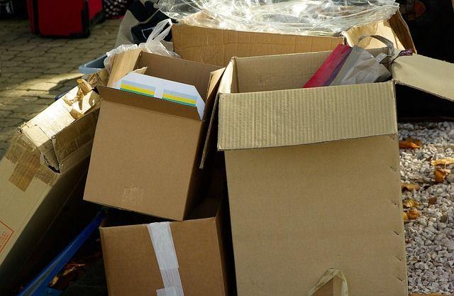 Картонные коробки - необходимая вещь для подготовки к переезду