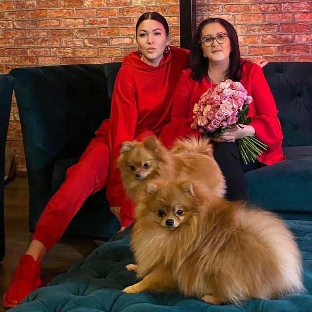 Ирина Дубцова с матерью Натальей