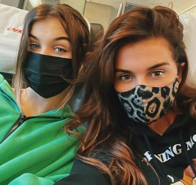 Анна Седокова дочь Алина маски
