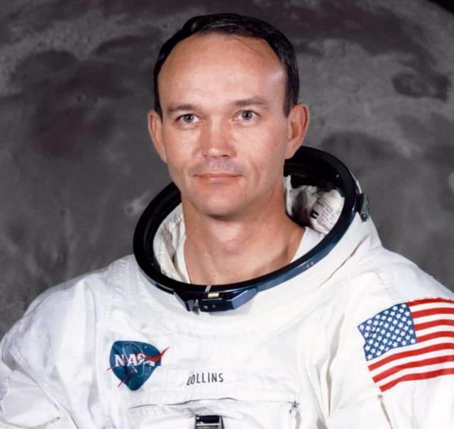 Майкл Коллинз астронавт США летавший на Луну