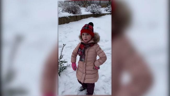 Лиза и Гарри Галкины слепили снеговика со смартфоном