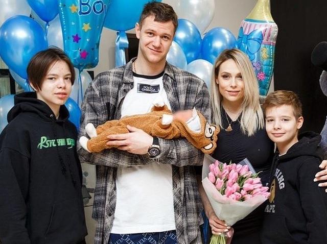 Мария Зубкова, Андрей Зубков, дети