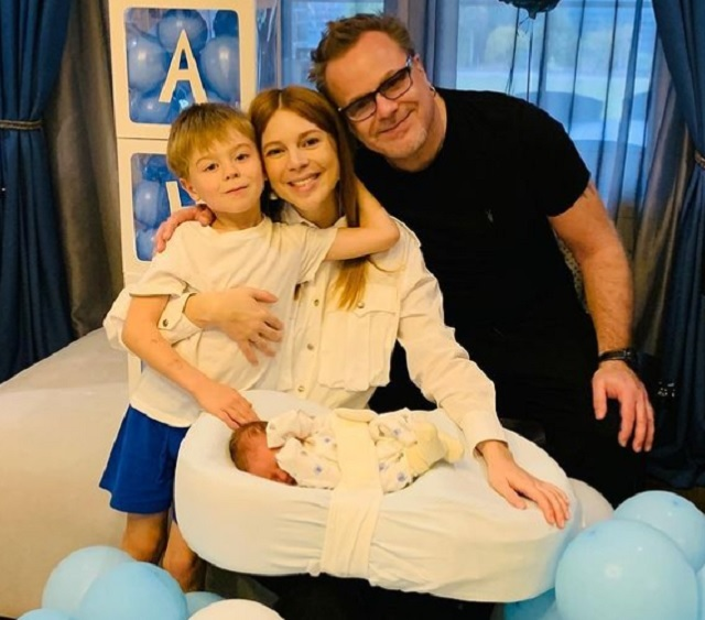 Владимир Пресняков и Наталья Подольская, дети