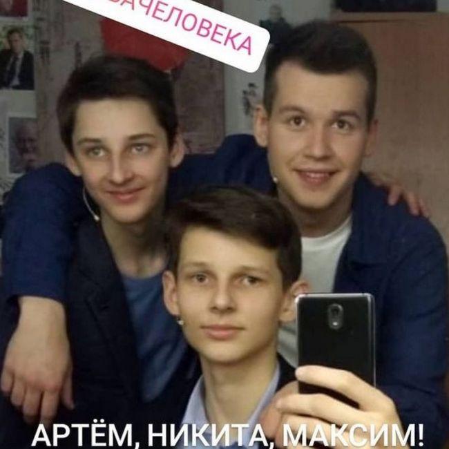 Дети Натальи Антоновой