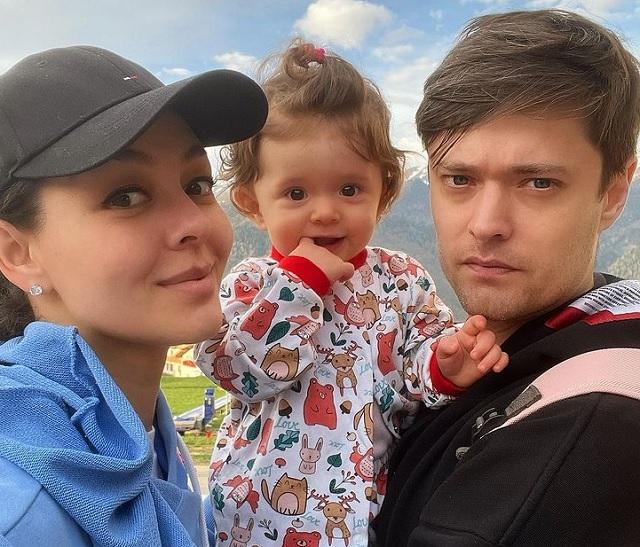 Марина Кравец, дочь Вероника, муж Аркадий Водахов