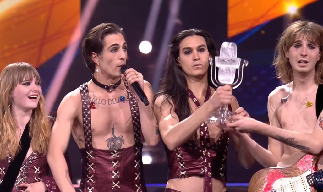 «Евровидение-2021» победители. Группа Maneskin из Италии