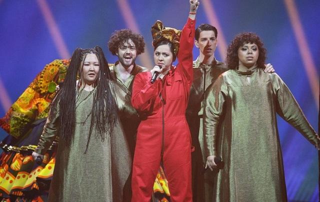 Манижа на конкурсе «Евровидение-2021»
