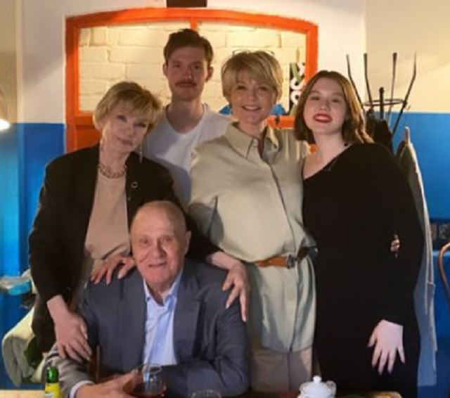 Меньшов и Алентова, семья