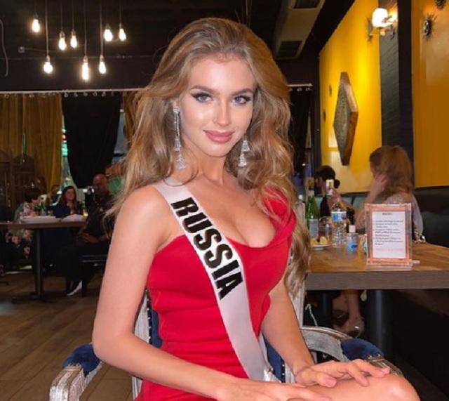«Мисс Россия» Алина Санько