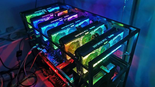 Ферма GeForce RTX 3070