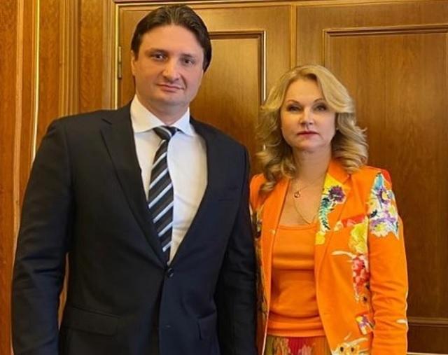 Эдгард Запашный и Татьяна Голикова