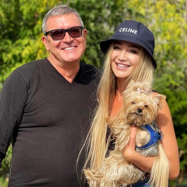 Ольга Бузова с отцом